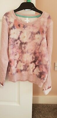 girls pink sweater from NEXT age 8