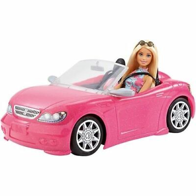 Barbie Pink Convertible CAR AND DOLL  - BRAND NEW FAST DIAPTCH