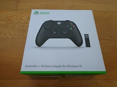 Microsoft Xbox One Controller with Wireless Adapter for Windows 10 BOXED MINT