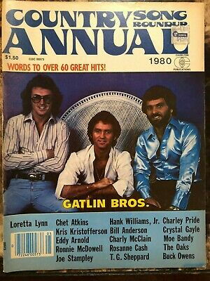 Country Song Roundup Magazine Annual 1980 Catlin Bros / Rosanne Cash / Moe Bandy