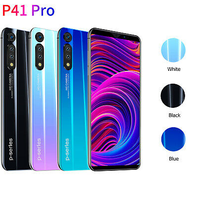 "P41 Pro 6.1"" 8+128GB Unlocked Android Mobile Smart Phone 10Core Full HD 4G Phone"