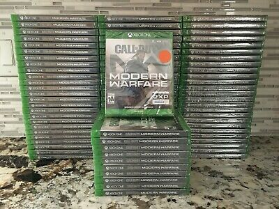 Call of Duty Modern Warfare XBOX ONE 1 2019 BRAND NEW FACTORY SEALED MW