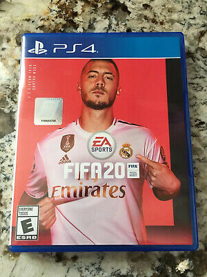 FIFA 20 Sony Playstation 4 PS4 Brand New Factory Sealed Fast Shipper