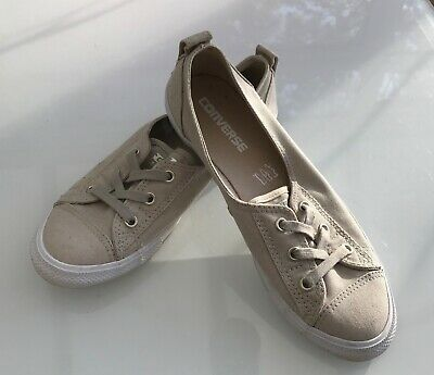 Girls Ladies Slip On Converse All Star Canvas Shoes UK 5.5 eur 38.5  24.5 cm
