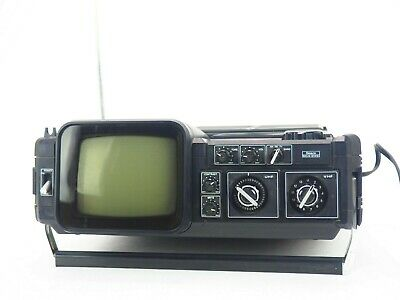 Vintage Sears Solid State Go-Anywhere Portable TV-Radio Model No 564.50384151