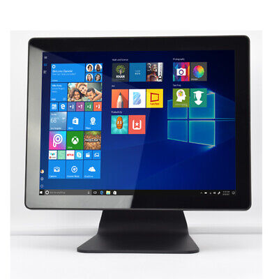 """All in one point of sale terminal 15"""" Touch Flat Panel WIN 10 Retail POS"""
