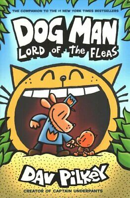 Dog Man 5: Lord of the Fleas PB by Dav Pilkey 9781407192161 | Brand New