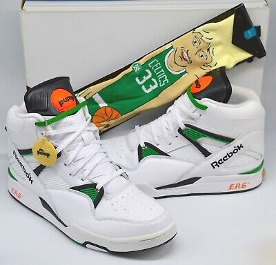 Details about VNDS Reebok Pump Omni Zone Boston Celtics WhiteBlackGreen sz 10.5 Rare Retro