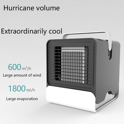 Mini Humidificateur Portable Ventilateurs Purificateur au Anion de Bureau USB