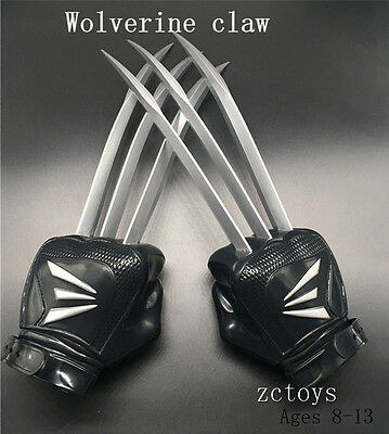 X-MEN The Wolverine Claws Werewolf Paw Gloves Cosplay for Kid WIth Retail Box