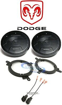 Hifonics Front Factory Speaker Replacement Kit For 1998-2004 Dodge Intrepid