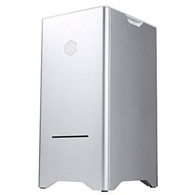 SilverStone SST-FT03S - Cabinet Fortress Mini-Tower mATX, argento - NUOVO