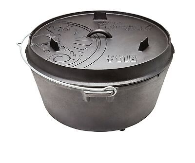 Petromax Fire Pan Frying Pan 20cm Content 1L with Handle Induction Gas Ce