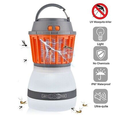 AITOO Camping Lights with Bug Zapper Mosquito Repellent Function,IP67 Waterpr...