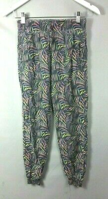 PRIMARK GIRLS TROUSERS 11-12 Years Geometric Patterned VQQF