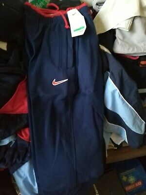 NIKE FLEECE IN NAVY/red IN X/S AT £12 IN NAVY BNWL2830 INCH RELAX FIT generous