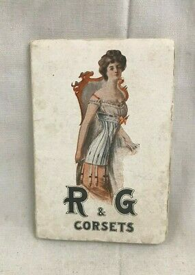 Neat Orig. Antique R & G Corsets Beauty Leaves Advertising Booklet Powder pages