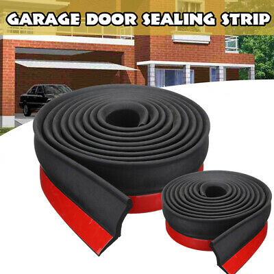 1M Garage Door Bottom Weather Stripping Rubber Seal Strip Replacement Door._