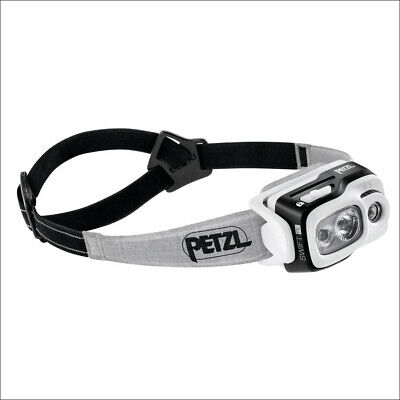 Petzl Swift Rl Noir - Lampe Frontale Intelligente Rechargeable 900 Lumens