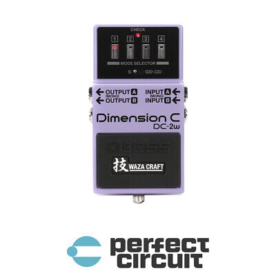 Boss DC-2W Dimension C Waza Craft Pedal EFFECTS - NEW - PERFECT CIRCUIT