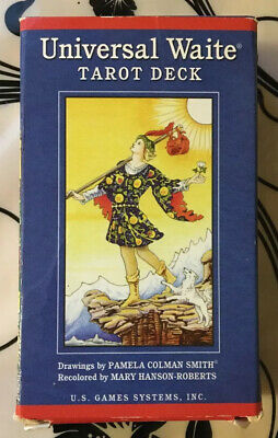 Universal Waite Tarot Deck Complete Regular Size 78 cards Colman Smith 2004 Used
