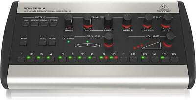 Behringer Powerplay P16-M Personal Mixer New in Box