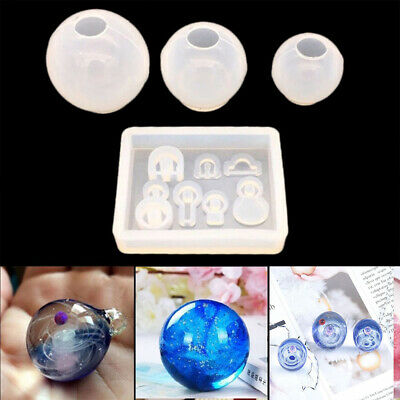 Making Tools Necklace Pendant Resin Mold Silicone Mould Epoxy Mold Star ball