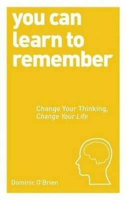 You Can Learn To Remember by O'Brien, Dominic (Paperback book, 2014)