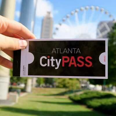 Atlanta City Passes E-ticket quick email delivery World of COCA-COLA, CNN, zoo