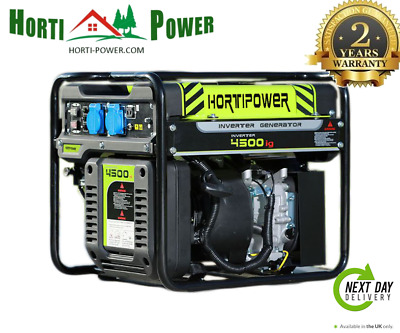 Portable Petrol Digital Inverter Generator 4.5KW 4500W pure sine wave UK PLUG