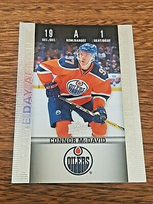 *Connor MCDAVID 2019 Tim Hortons Game Day Action*