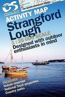 Strangford Lough by Ordnance Survey of Northern Ireland (Sheet map, folded book,