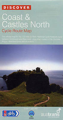 Coast and Castles North - Sustrans Cycle Routes Map. Sustrans Official Cycle Rou