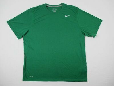 NEW Nike - Men'sGreen Dri-Fit Short Sleeve Shirt (2XL)