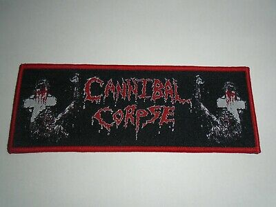 Cannibal Corpse Woven Patch