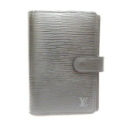 Louis Vuitton Epi agendasPM notebook cover R20052 Noir Free Shipping [Used]