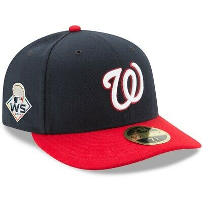 2019 World Series Washington Nationals New Era 59FIFTY Low Profile Fitted Hat