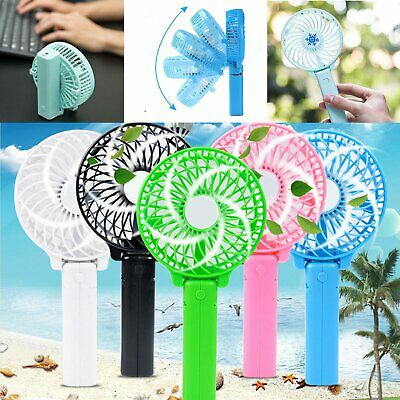 Mini Ventilateurs Portable USB Rechargeable Ventilateur de Table Vent Froid FR