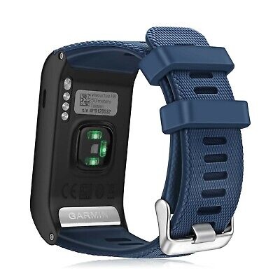 FINTIE For Garmin Vivoactive HR Strap, Soft Silicone Watch Bands Replacement ...