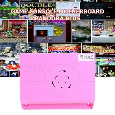 2400 in 1 Games 3D Pandora Moonlight Plus Box Motherboard Dual Players Quad Core