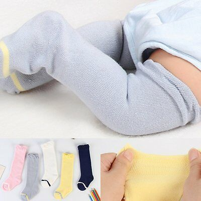 Baby Kids Toddler Girls Knee High Long Socks Tights Leg Warmer Stockings Age 0-6