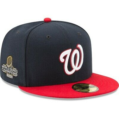 2019 World Series Champions Washington Nationals New Era 59FIFTY Fitted Hat