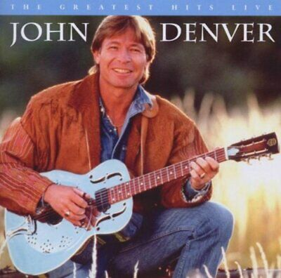 John Denver - Greatest Hits Live - John Denver CD S3VG The Cheap Fast Free Post