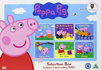 Peppa Pig - Selection Box [DVD] - DVD  5QVG The Cheap Fast Free Post
