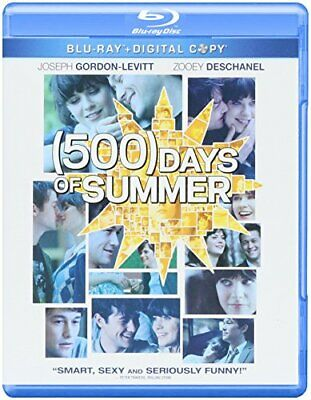 500 Days of Summer [Blu-ray] [2009] [US Import] - DVD  UQVG The Cheap Fast Free