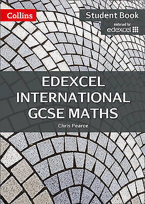 Edexcel International GCSE Maths Student Book by Pearce, Chris (Paperback book,