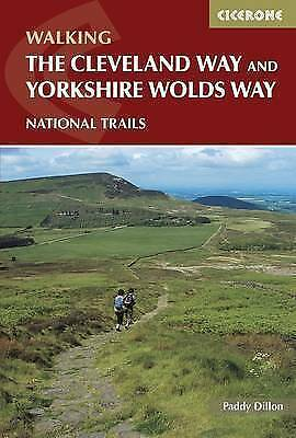 The Cleveland Way and the Yorkshire Wolds Way by Dillon, Paddy (Paperback book,