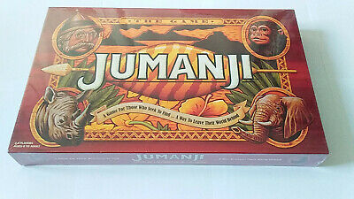 Jumanji Board Game Family Action Board Game Set For Kids/Adults **NEW/SEALED**