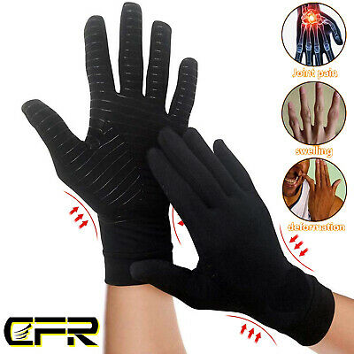 Compression Gloves Wrist Brace Support Arthritis Carpal Tunnel For Pain Relief