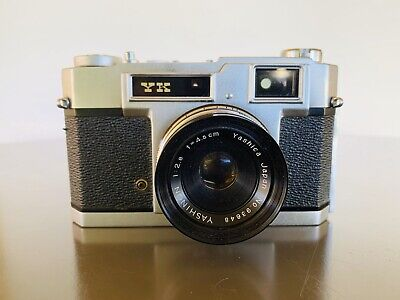 Yashica YK Vintage Rangefinder 45mm Camera With A Case, Made In Japan.